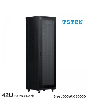 Toten 42U Network server rack cabinet 800mmx1000mm