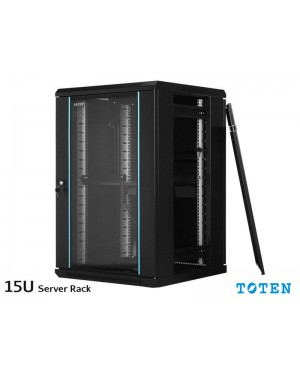 Toten 15U Wall Mount Rack Server Cabinet WM.6615.7101
