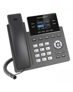 Grandstream GRP2612P Carrier-Grade 2-line IP Phone with POE