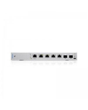 Ubiquiti UniFi 10 Gigabit 6-Port 802.3bt PoE+ 2SFP+Switch